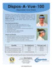 Disposavue Face Shield  06.16.20 Front.j