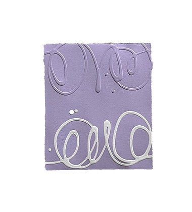 Pale Violet with Cream