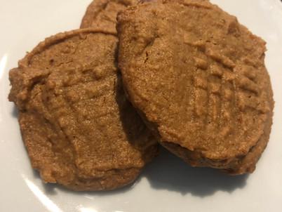 Peanut Butter Cookies (2 Ingredients!)