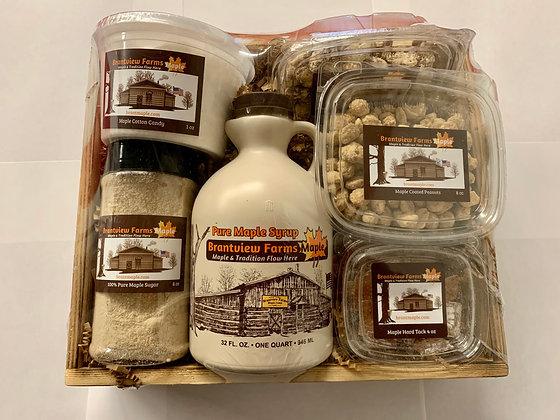 Maple Variety Large Gift Basket