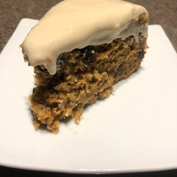 Maple Cosmic Carrot Cake