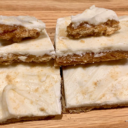 Graham Cracker Maple Toffee Bars