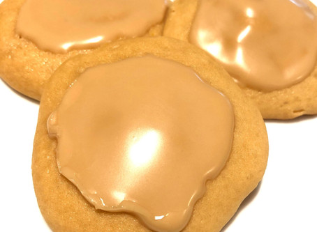 Glazed Maple Syrup Cookies
