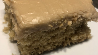Maple Syrup Cake with Creamy Maple Frosting