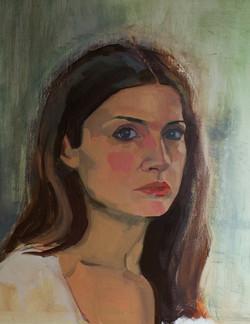 """The headache"" (selfportrait)"