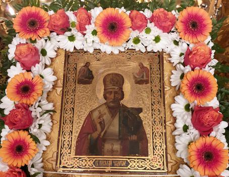 Престольный Праздник в День Святителя Николая Чудотворца