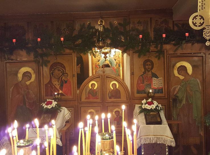 Église orthodoxe russe Saint Nicolas - P