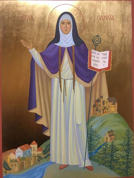 К 1300-летию преставления святой Одилии Эльзасской