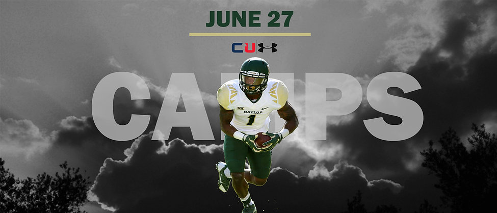 Camps Banner Clouds football - baylor Ju