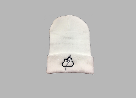 Frost White Knit Hat