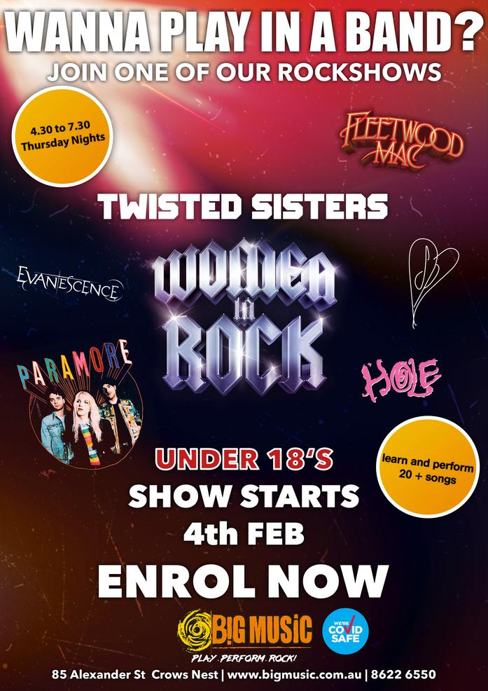 Twisted Sisters: Women in Rock