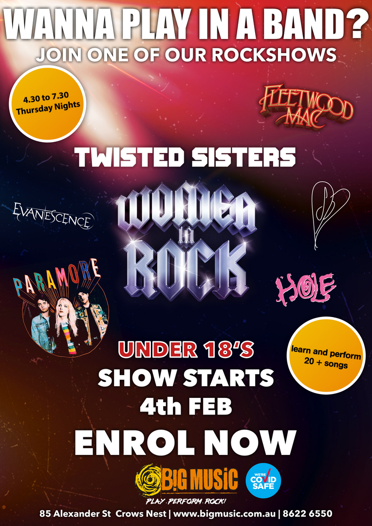 Twisted Sisters: Women in Rock