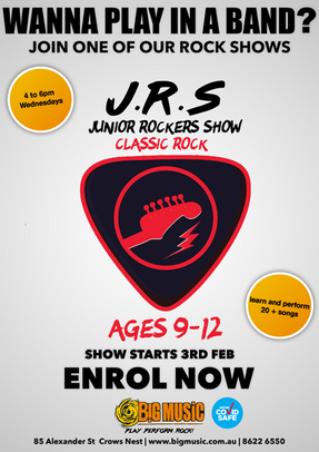 Juniors Rockers Show