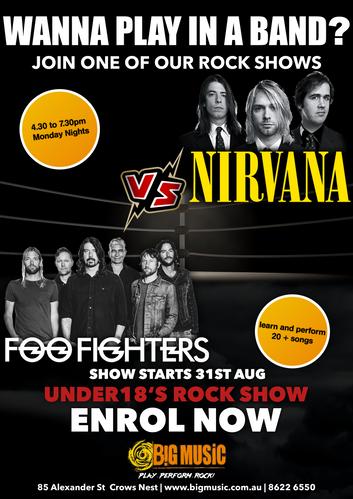 Nirvana VS FooFighters