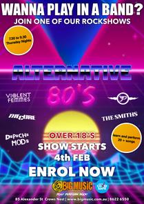 Alternative 80's