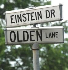 institute street sign