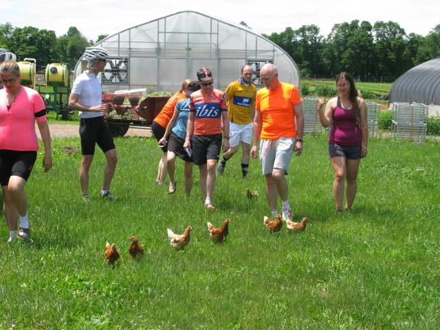 Farm to table bike tours Princeton