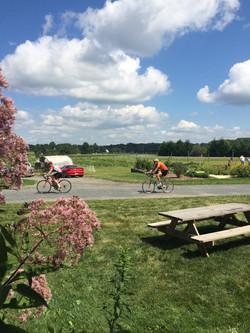 Farm to table bike tours Princeton, New Jersey