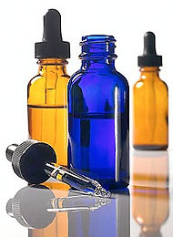 homeopathic remidies in bottles