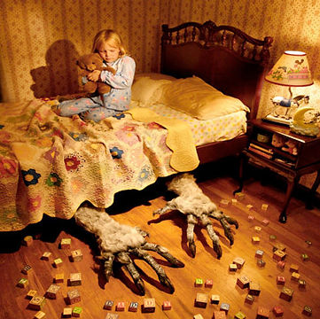 Imagined fear like a monster under the bed. How to cope.