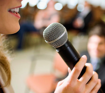 Public Speaking for Trauma Recovery.