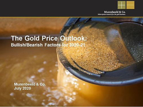 One year subscription to the Gold Monitor