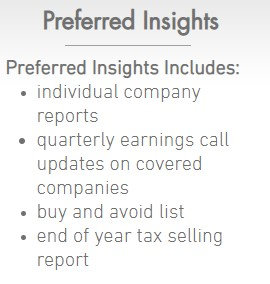 Preferred Insights Annual Subscription