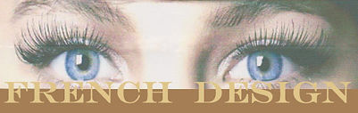 eyelashes extensions french look