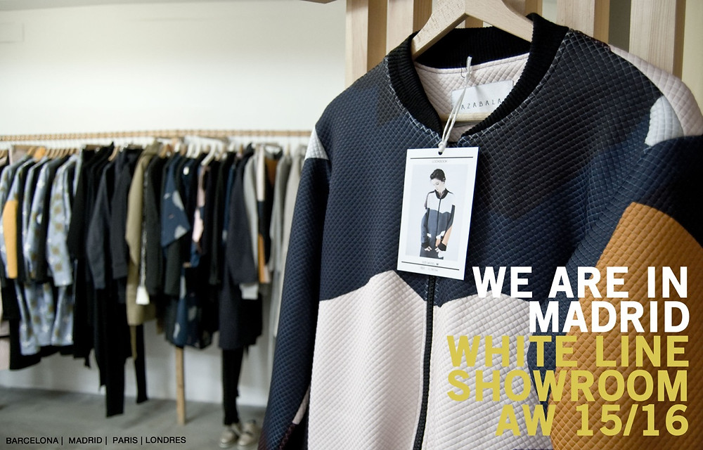 WHITE LINE SHOWROOM - WE ARE IN MADRID