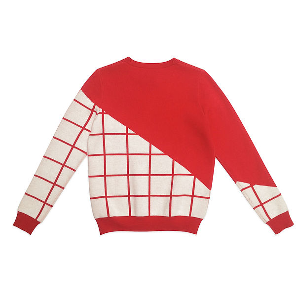 Grids  Crew Neck Pullover red-2.jpg