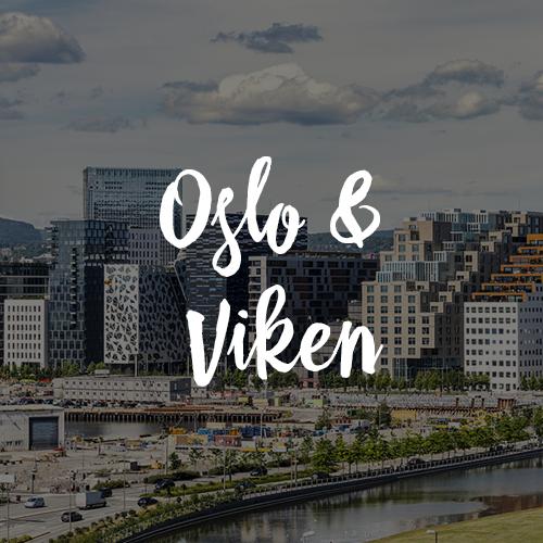 Oslo and Viken region