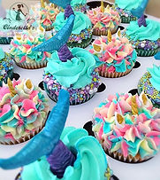Mermaid and Unicorn Cupcakes