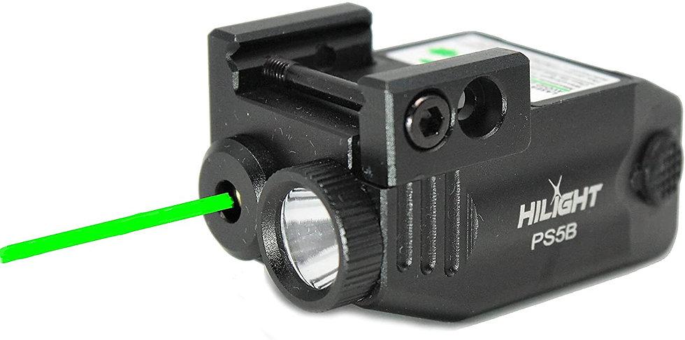 HiLight Primal Series Green Laser Sight 400lm Flashlight Combo