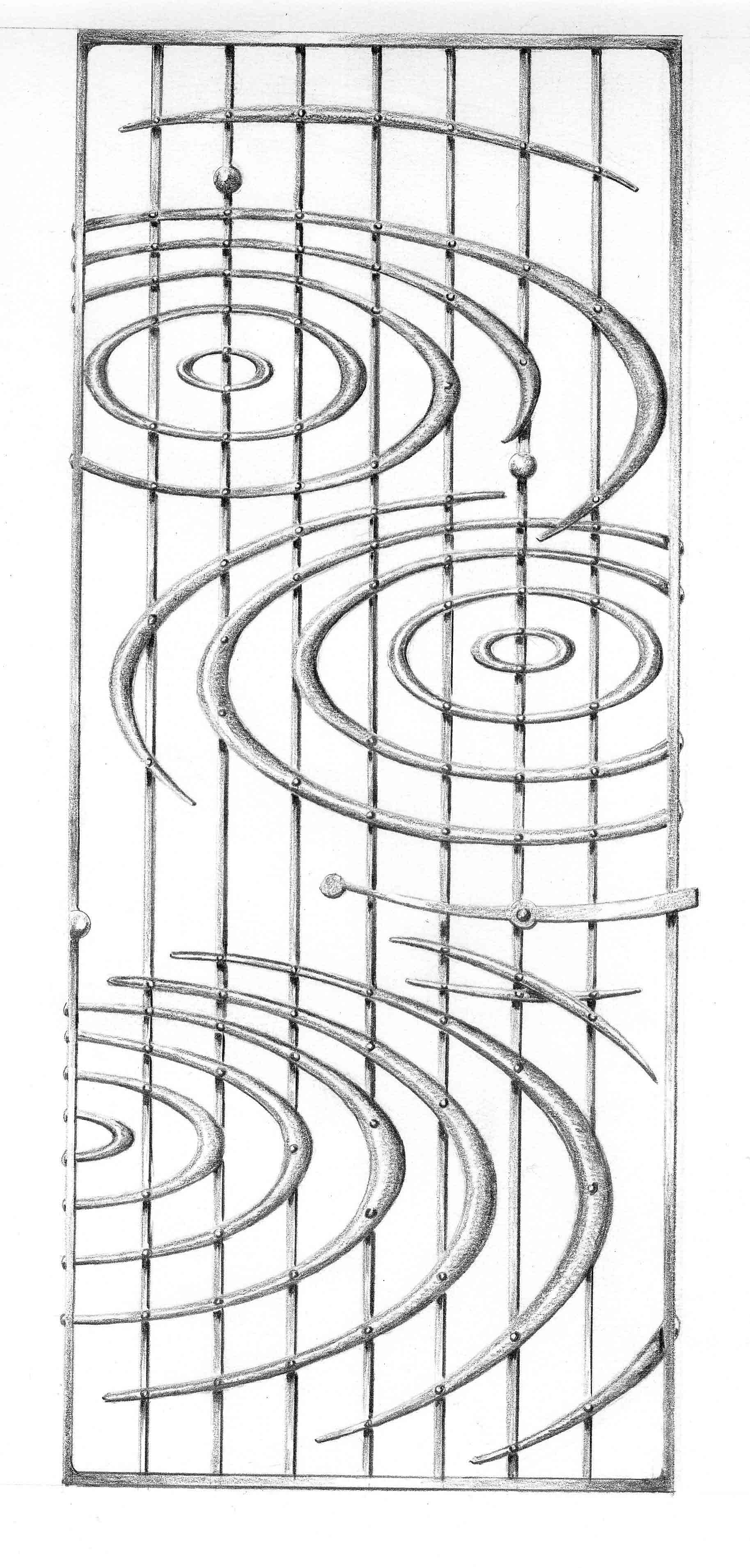 Water rings gate design