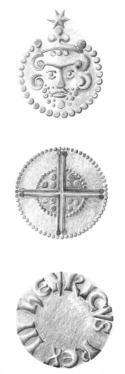 Coins drawing