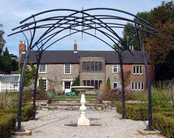 Garden Arbour.  Installed