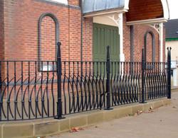 Town Hall railings