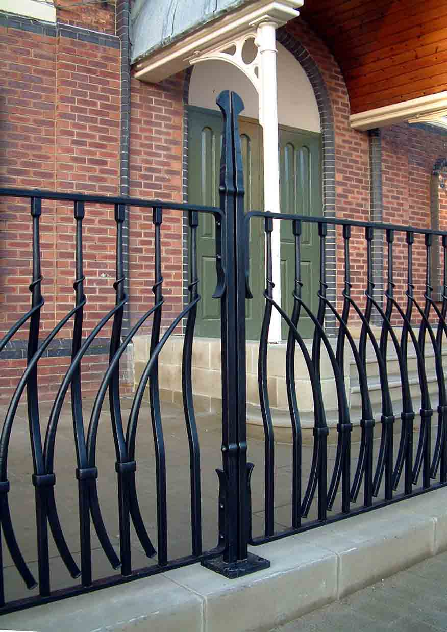 Swadlincote Town Hall Railings