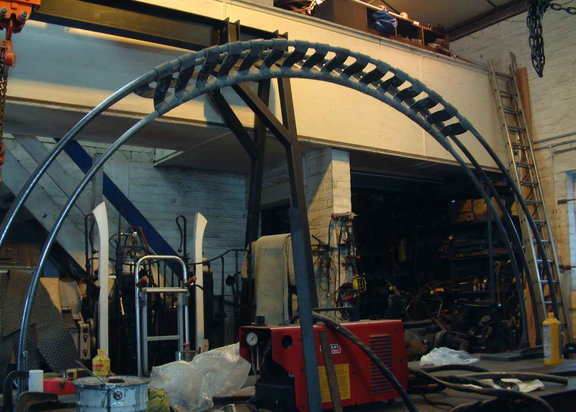 Wymeswold arch (under construction)