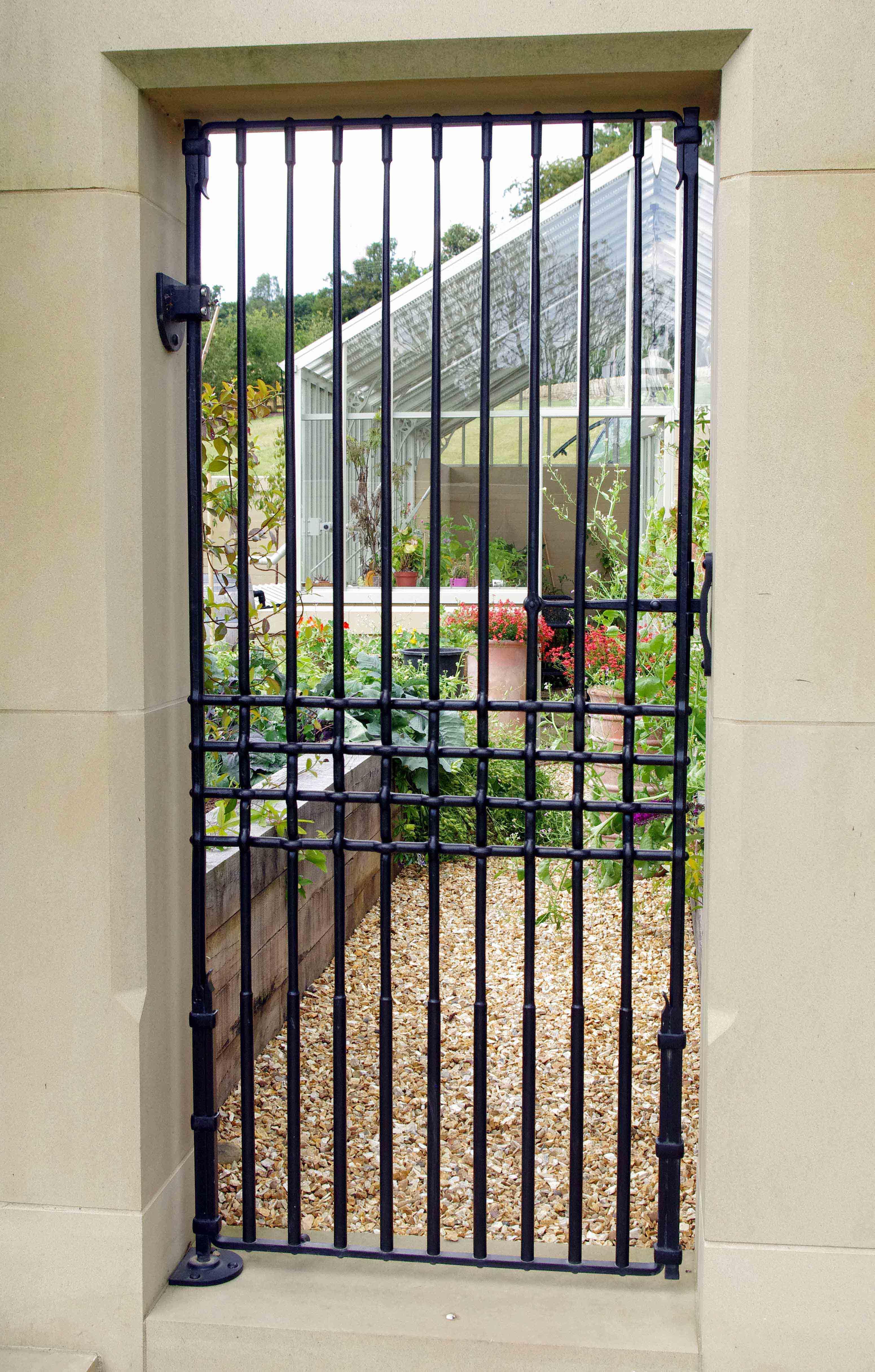 Woven gate