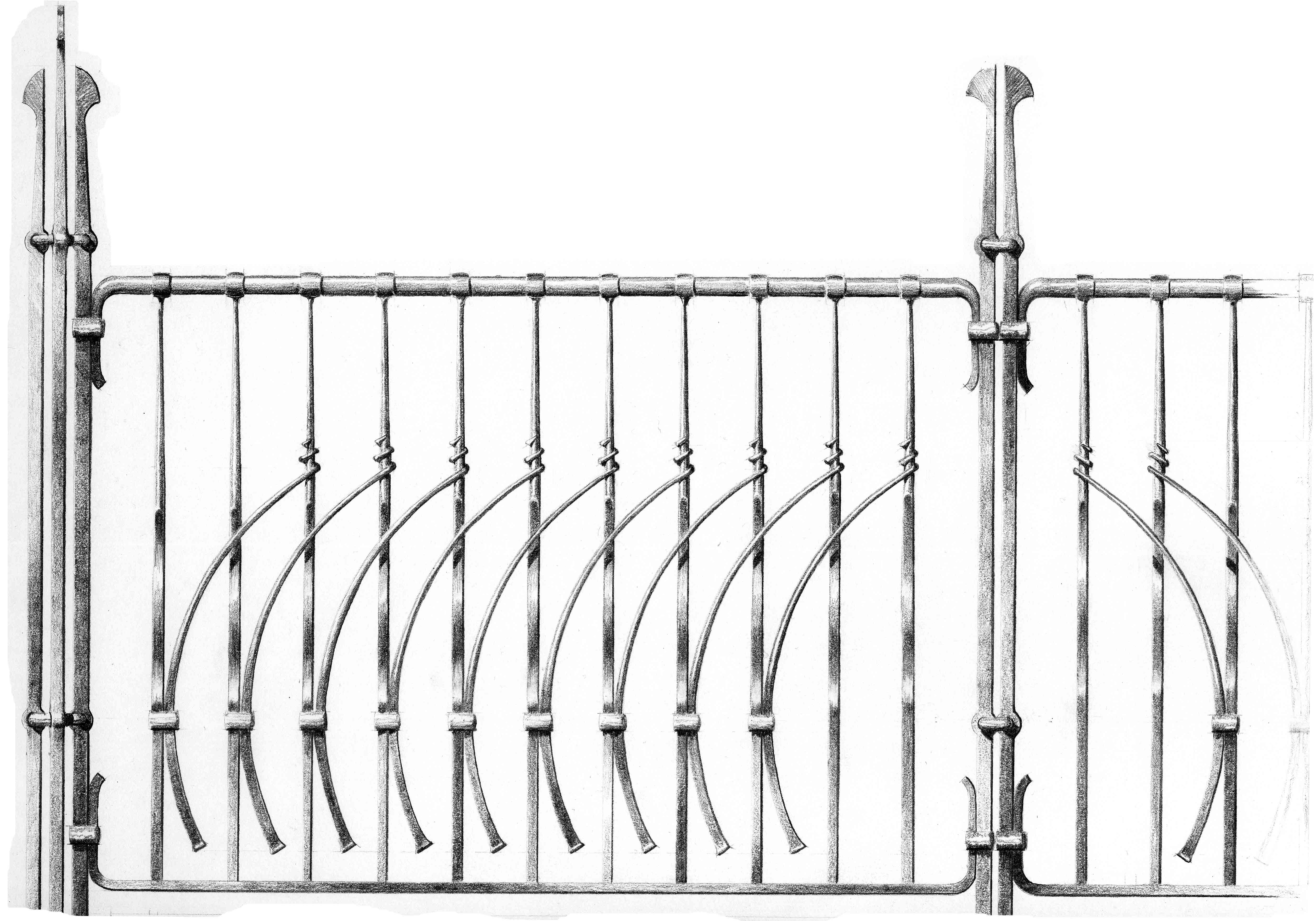 Swadlincote railings drg