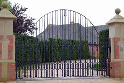 Manor House gates
