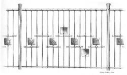 School railings design
