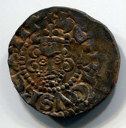Actual Henry III coin 10mm diameter