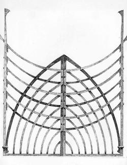 Christchurch Millennium gate drawing