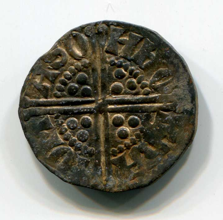 Buxton Hoard long cross coin
