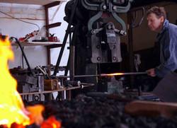 Forging on the power hammer