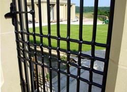 Woven gate detail