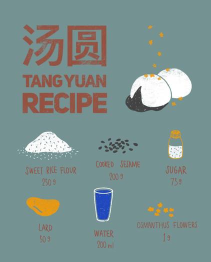 Tang Yuan Recipe