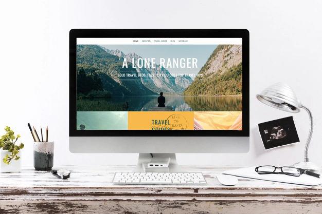 Travel Blog website designed by Paitai Design